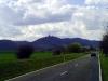 Blick zum Kyffhäusergebirge