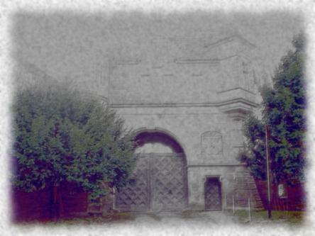 Das Portal zum Schloß